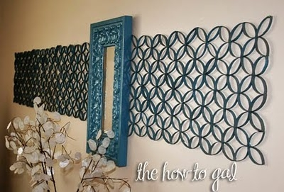 Toilet paper roll wall art made2style for Toilet paper roll art projects