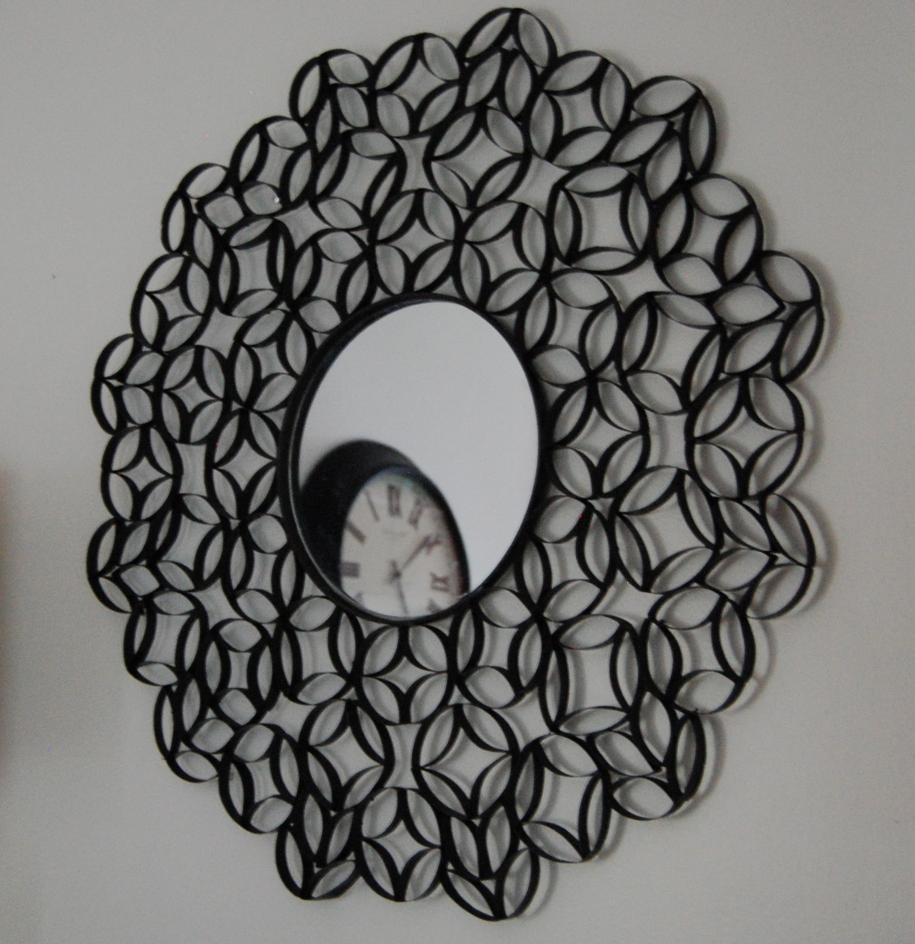 toilet paper roll wall art made2style. Black Bedroom Furniture Sets. Home Design Ideas