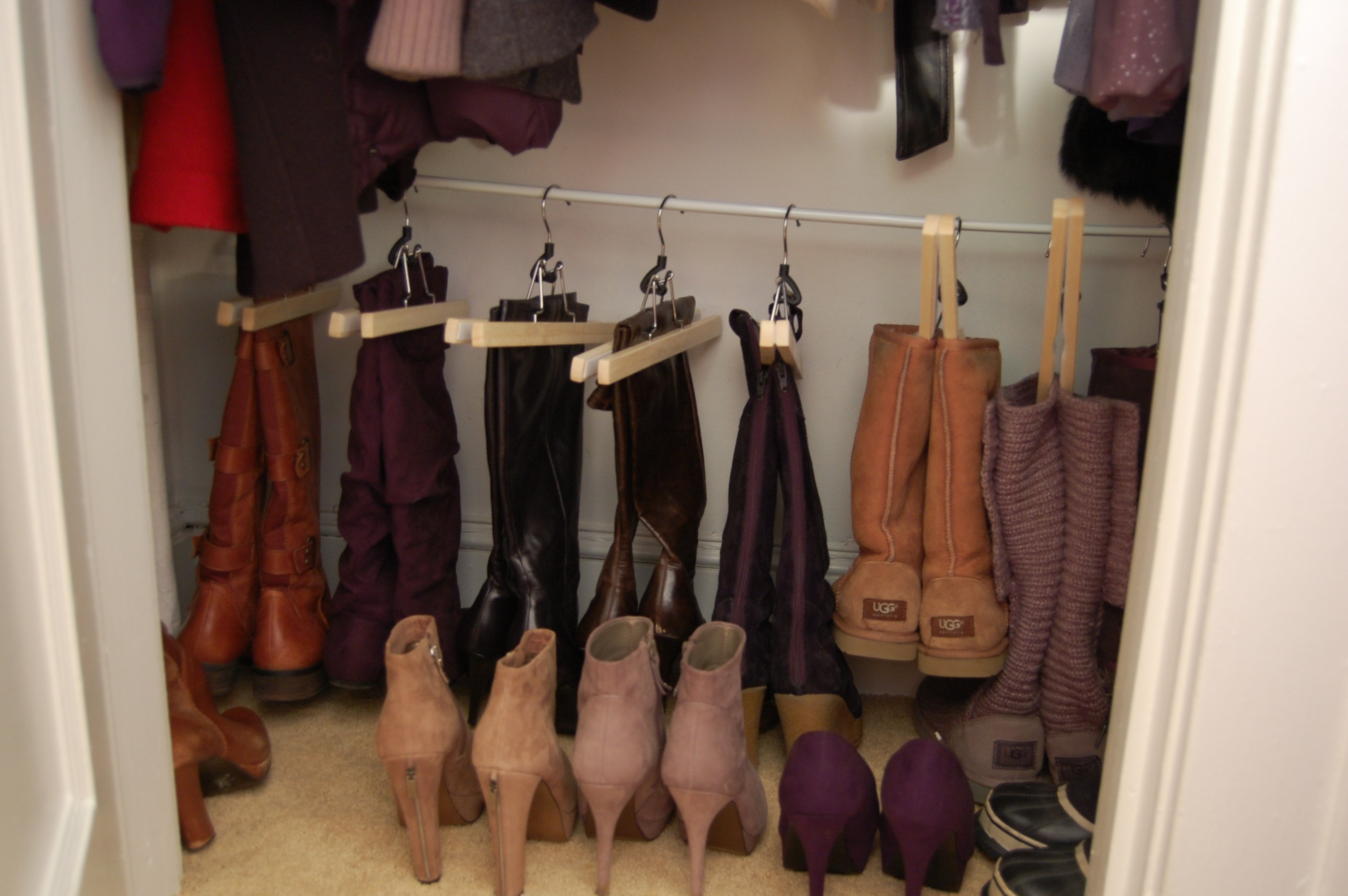 Organizing Your Shoe Closet Boot Edition Made2style