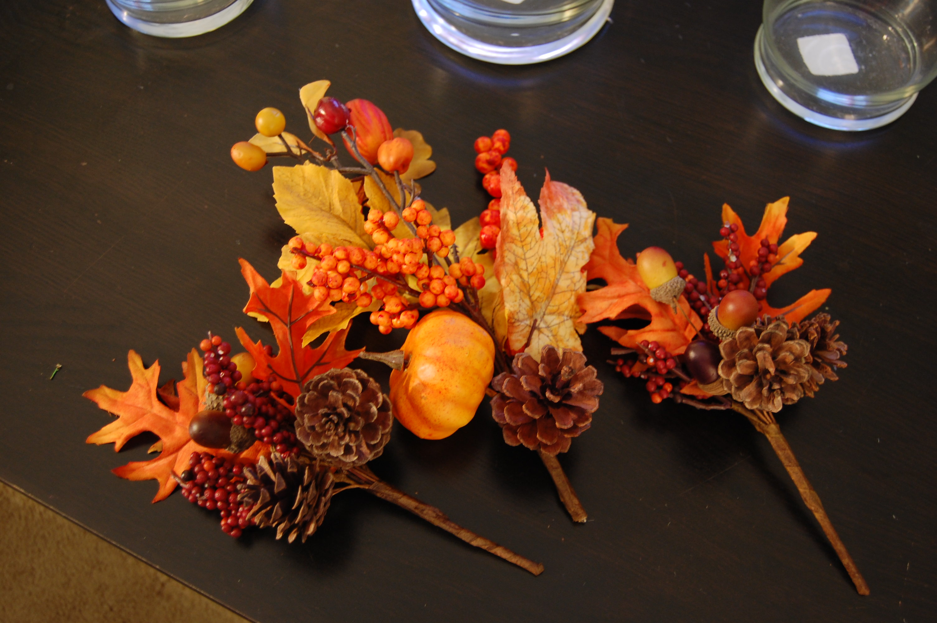 fall table decor made2style. Black Bedroom Furniture Sets. Home Design Ideas
