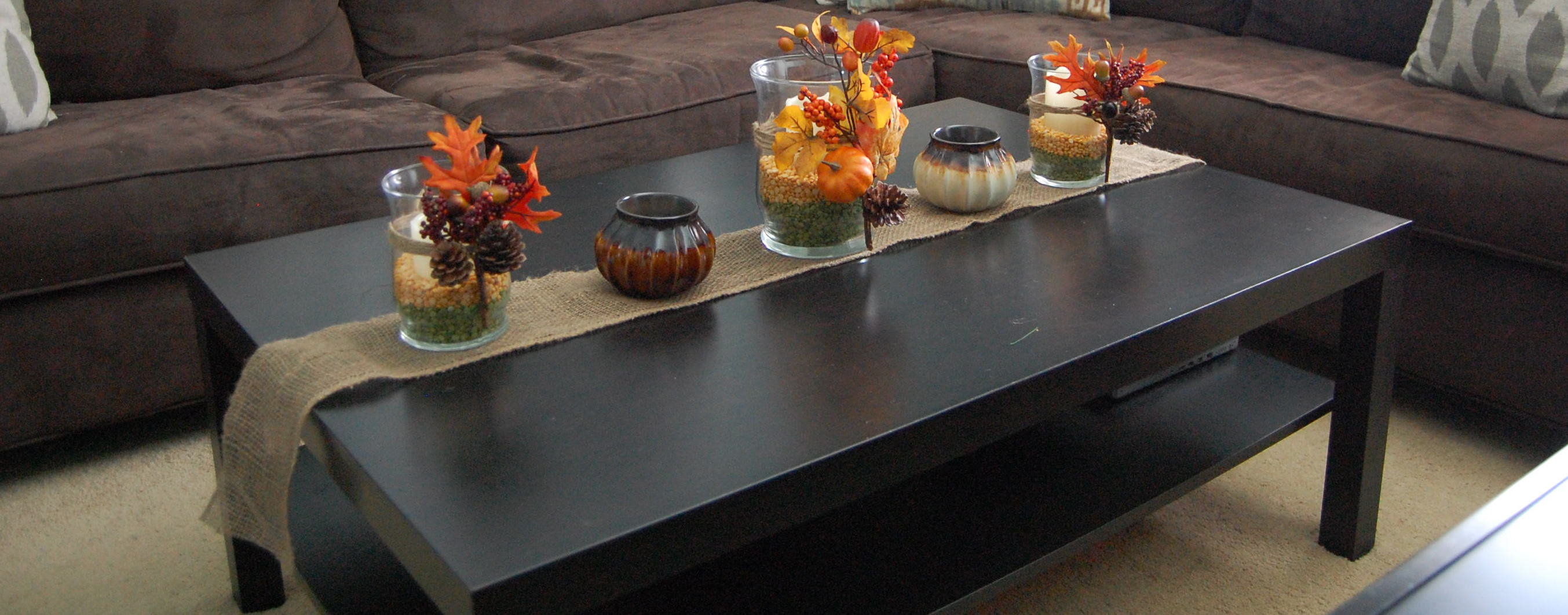Fall table decor made2style for House table decorations