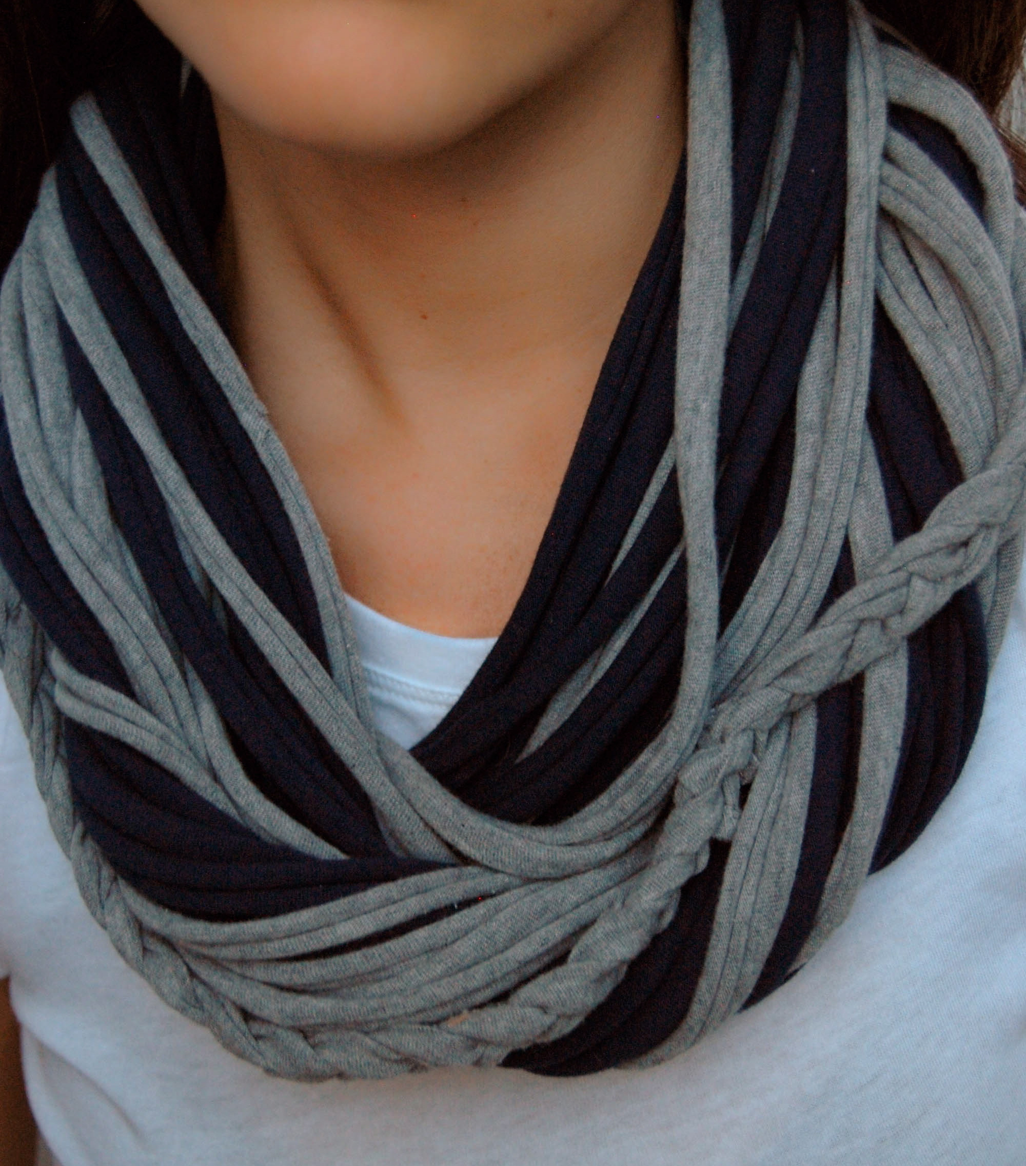 diy t shirt infinity scarf made2style