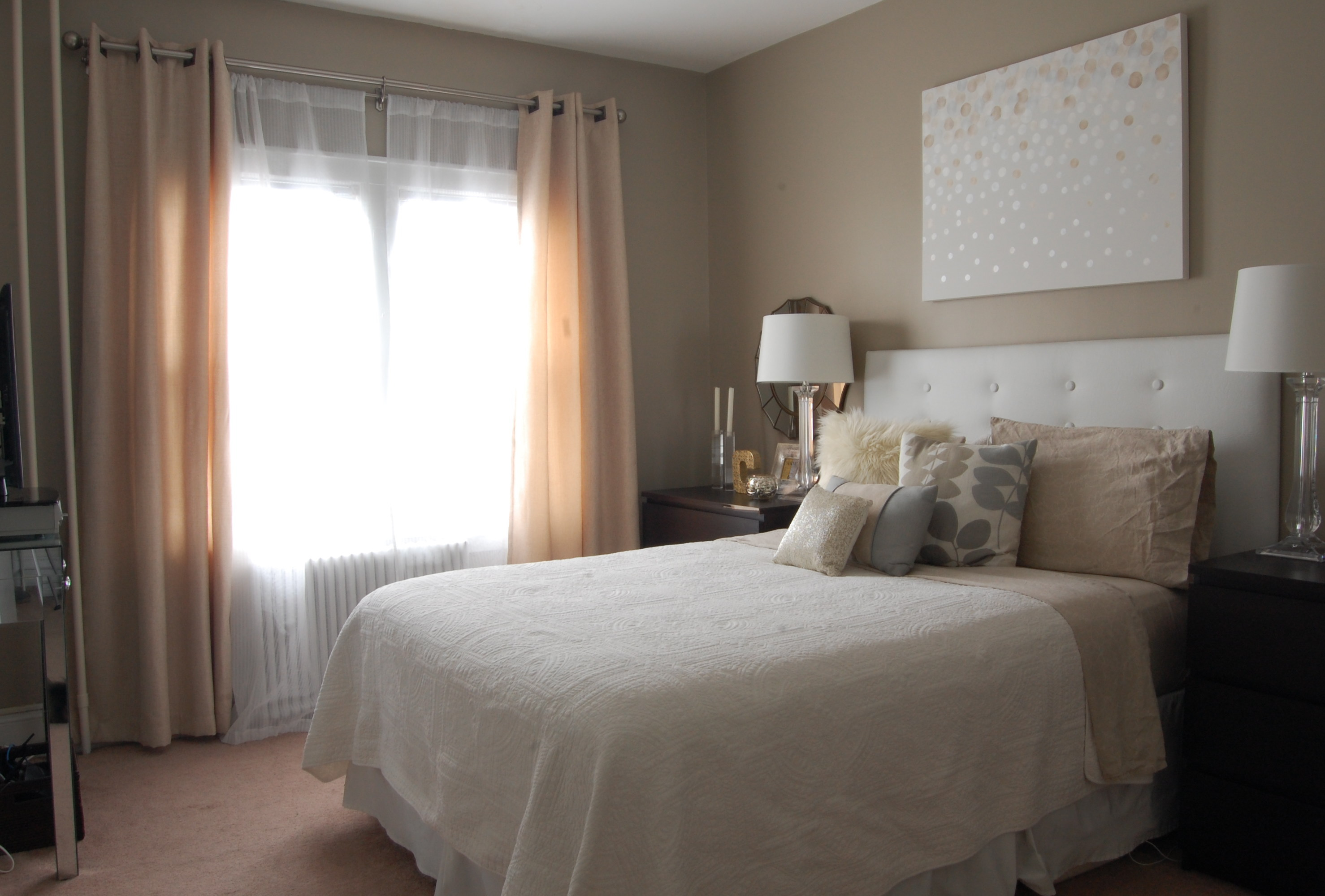 Mirror Placement In Bedroom Bedroom Makeover Reveal Made2style