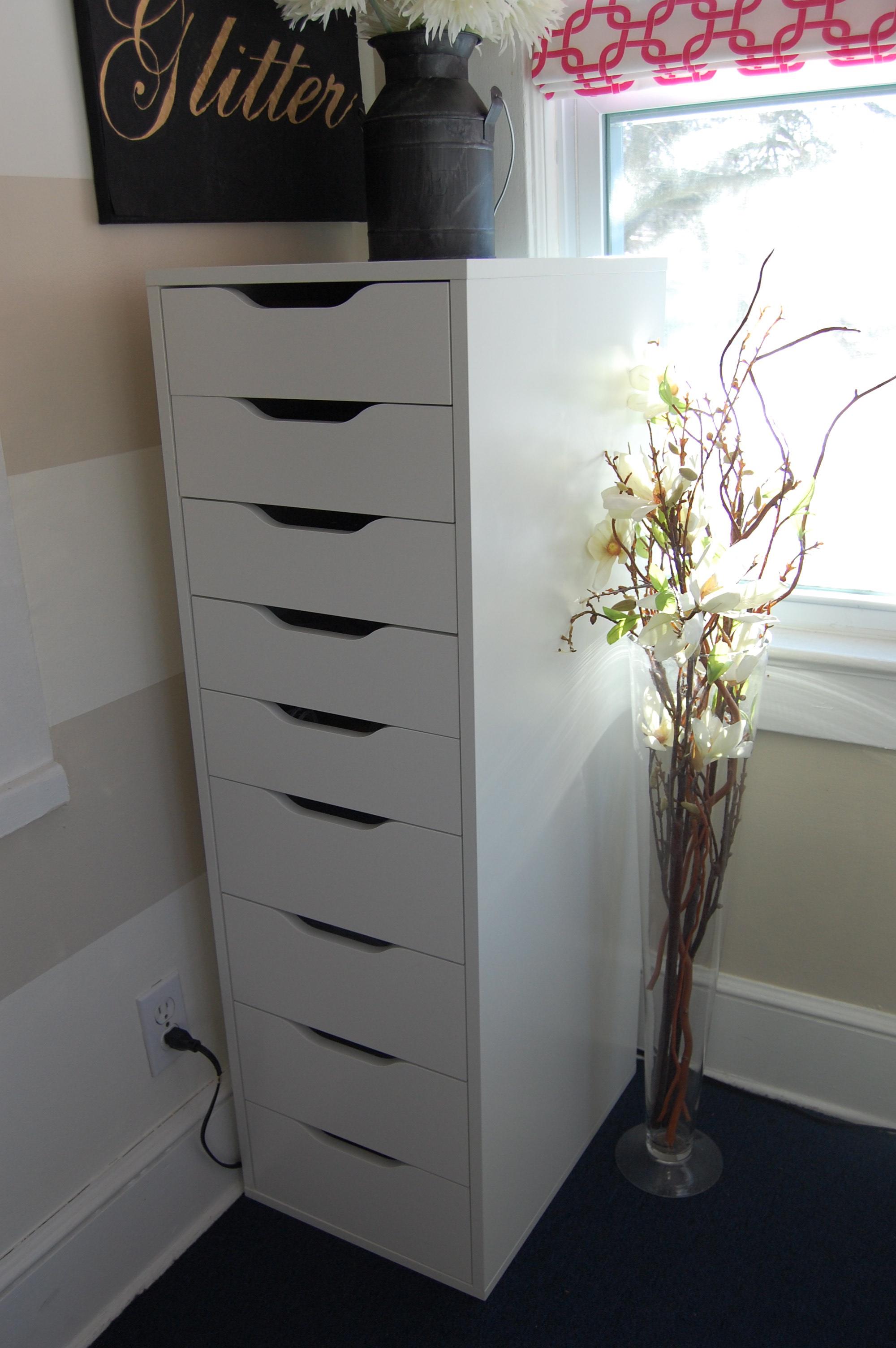 Craft Storage Ikea Alex Made2style
