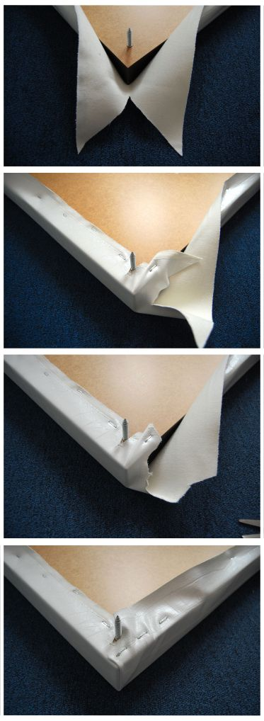 Steps to wrapping a corner