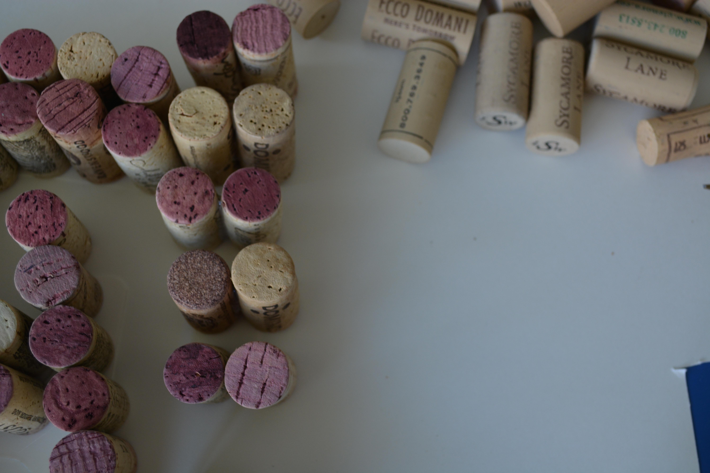 wine cork letters wine cork letters