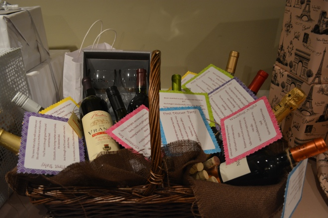 Wine Themed Bridal Shower l Made2Style.com