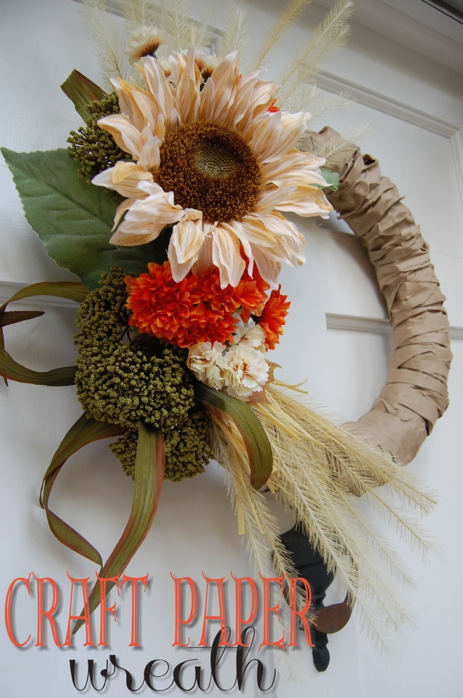 Craft Paper Wreath