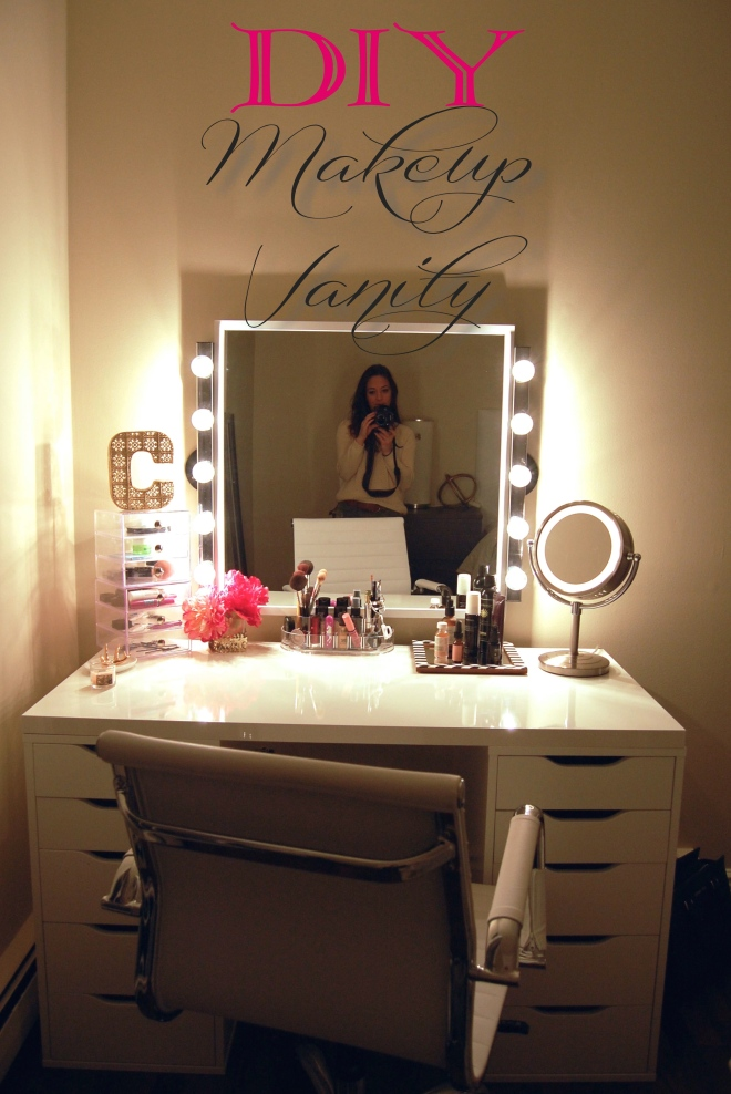 DIY Makeup Vanity u2013 Made2Style
