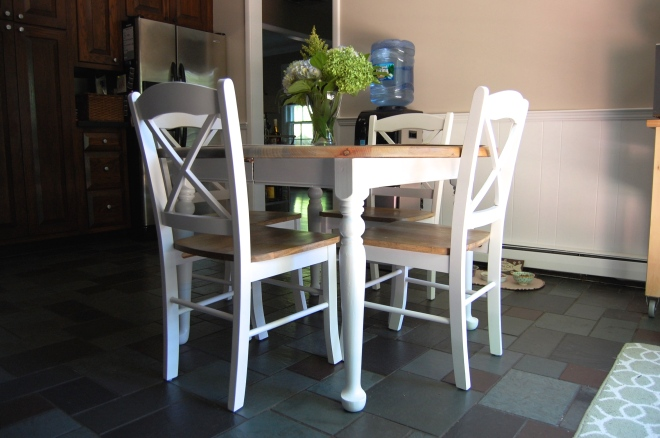 Kitchen Table Makeover via Made2Style