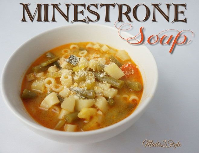Minestrone Soup I Made2Style