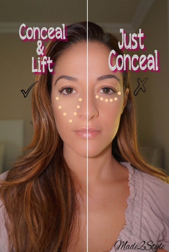 How To Properly Apply Concealer I Made2Style