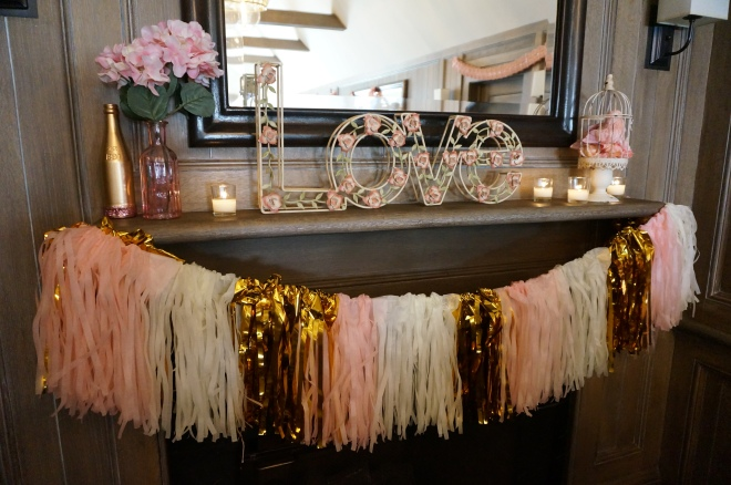 Blush & Gold Bridal Shower